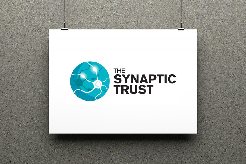 Logo design for the Synaptic Trust, a London-based group of educational academies.