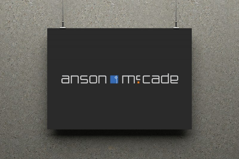 Identity design for Anson McCade, a city-based financial and IT consultancy. Co-designed with Rob Clayman