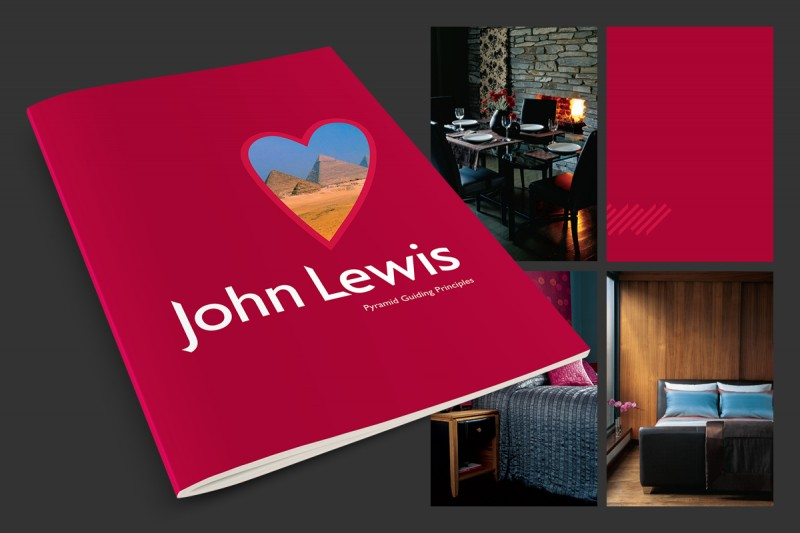 Brochure design for John Lewis.
