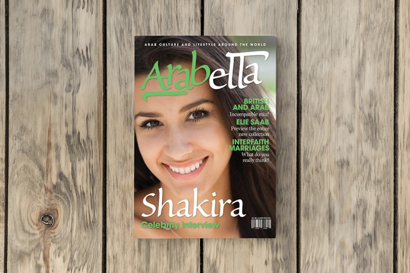 Art direction and design for Arabella, a magazine title for Middle Eastern women.