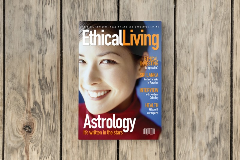 Art direction for Ethical Living magazine.