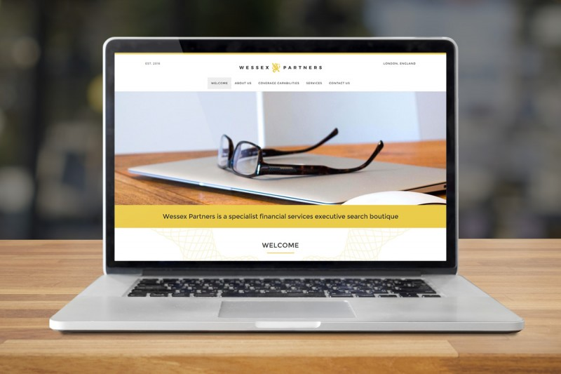 Website design and development for Wessex Partners, a specialist financial executive search consultancy.